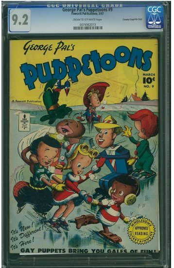 George Pal's Puppetoons #9 (CGC 9.2) 2ND HIGHEST GRADED