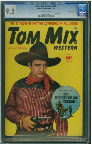 Tom Mix Western #32 (CGC 9.2) HIGHEST GRADED