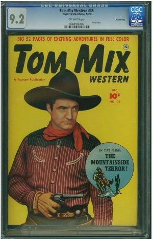 TOM MIX WESTERN #36 CGC 9.2