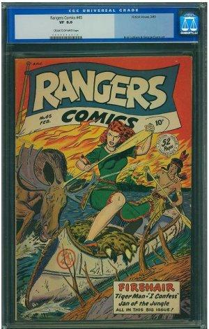 Rangers Comics #45 (CGC 8.0) 2ND HIGHEST GRADED