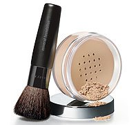 Mary Kay Mineral Powder Foundation w/ Brush - Ivory 2