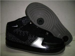 Men jordan Fusions Black and Silver