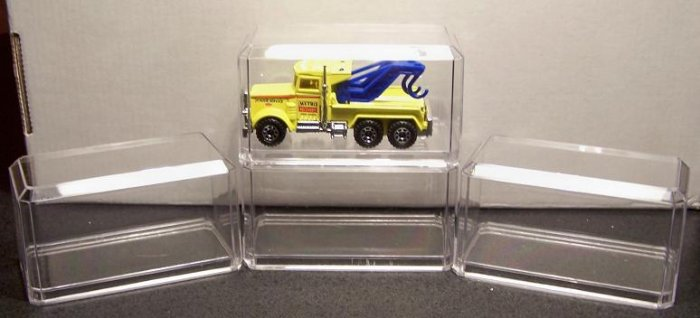 ACRYLIC DISPLAY CASE SET OF 4
