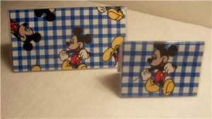 Mickey Mouse Checkbook Cover Set
