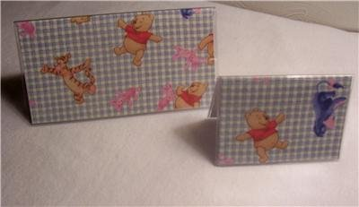 Winnie the Pooh Checkbook Cover Set