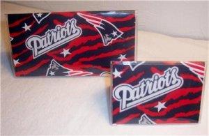 New England Patriots Checkbook Cover Set
