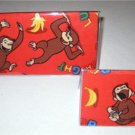 Curious George Checkbook Cover Set