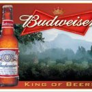 Budweiser Beer King Of Beers Tin Sign #1282