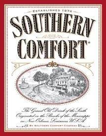 Southern Comfort Liquor Label Tin Sign #963
