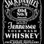 Jack Daniel's Whiskey Black Label Tin Sign #780