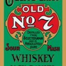 Jack Daniel's Green Label Whiskey Tin Sign #779
