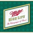 Miller Beer High Life Logo Tin Sign #857