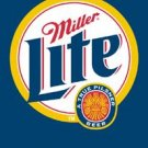 Miller Lite Beer Bottle Logo Tin Sign #872