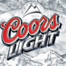 Coors Light Beer Frosted Label Tin Sign #1310