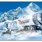 Coors Light Beer Silver Bullet Train Tin Sign #1308