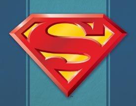 Superman Logo Tin Sign #1484