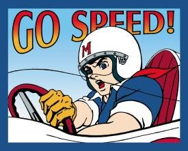 Speed Racer Go Speed Tin Sign #737