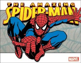 Spider-Man Classic Tin Sign #1481