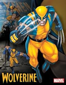 Marvel Wolverine Tin Sign #1221