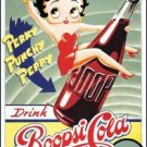 Betty Boop Boopsi Cola Tin Sign #254