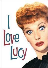 Love Lucy Show Face Tin Sign #708