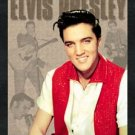 Elvis Presley Red Shirt Portrait Tin Sign #881