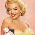 Marilyn Monroe New-U Cosmetics Tin Sign #574