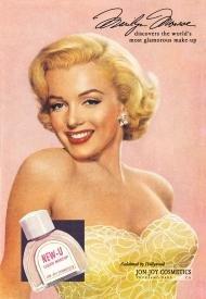 Marilyn Monroe New-U Cosmetics Tin Sign #574