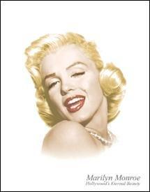 Marilyn Monroe Eternal Beauty Tin Sign #1214
