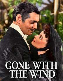 Gone With The Wind Rhett And Scarlett Tin Sign #1348