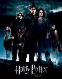 Harry Potter Movie Goblet Of Fire Tin Sign #1408
