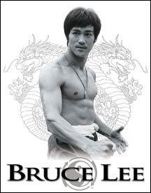 Bruce Lee Movie Ying Yang Tin Sign #1343