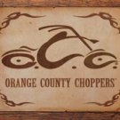 OCC Orange County Choppers Logo Motorcycle Tin Sign #1454
