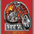 OCC Orange County Choppers Motorcycle Tin Sign #1474