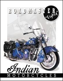 Indian Powerglide Motorcycle Tin Sign #1084