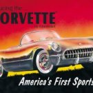 1953 Chevy Corvette Tin Sign #719