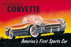 1953 Chevy Corvette Tin Sign #719