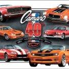 General Motors Chevy Camaro Car Tin Sign #1490