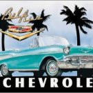 General Motors Chevy Bel Air Car Tin Sign #700