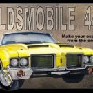General Motors Oldsmobile Car Tin Sign #869