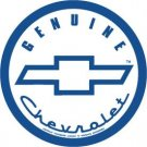 General Motors Genuine Chevrolet Round Tin Sign #798