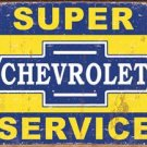 General Motors Chevrolet Service Tin Sign #1355