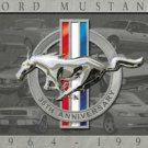 Ford Mustang 35th Anniversary Car Tin Sign #902