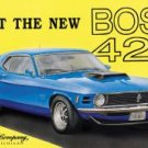 Ford Boss Mustang Car Tin Sign #703