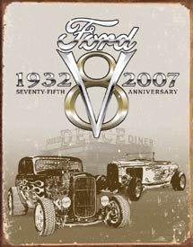 Ford Deuce Car Tin Sign #1436