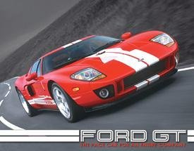 Ford GT Pace Car Tin Sign #1149