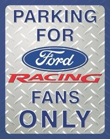 Ford Car Parking Tin Sign #1062