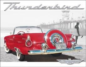 Ford Thunderbird Car Tin Sign #1271
