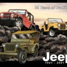 Jeep Tribute Tin Sign #961