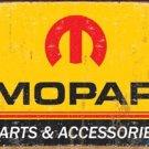 Mopar Parts Car Tin Sign #1315